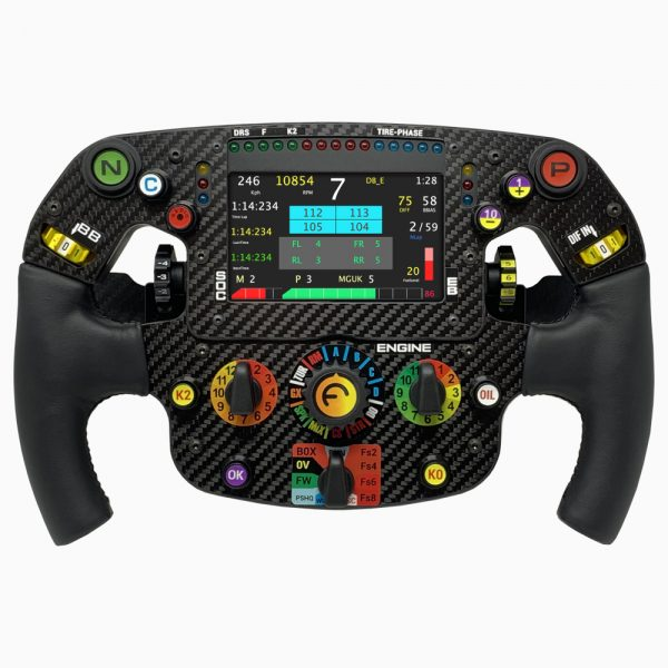 Sim racing steering wheel