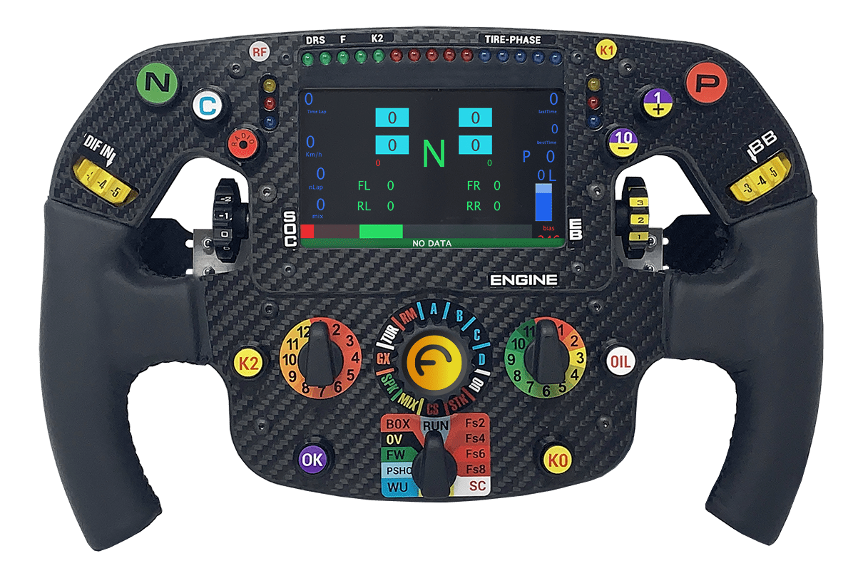 Formula steering wheel pc - ps4 - xbox one