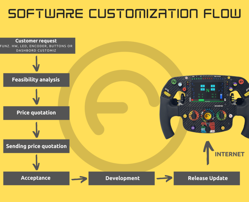 Software customization flow