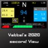 Vettel 2020 second view dashboard