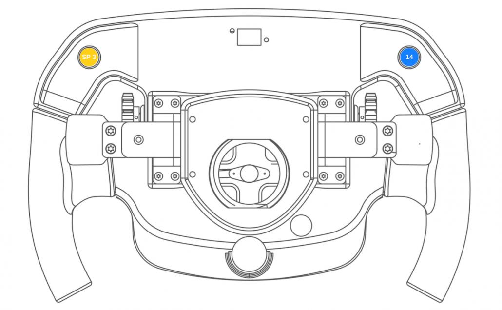 Sim racing wheel Thrustmaster PC