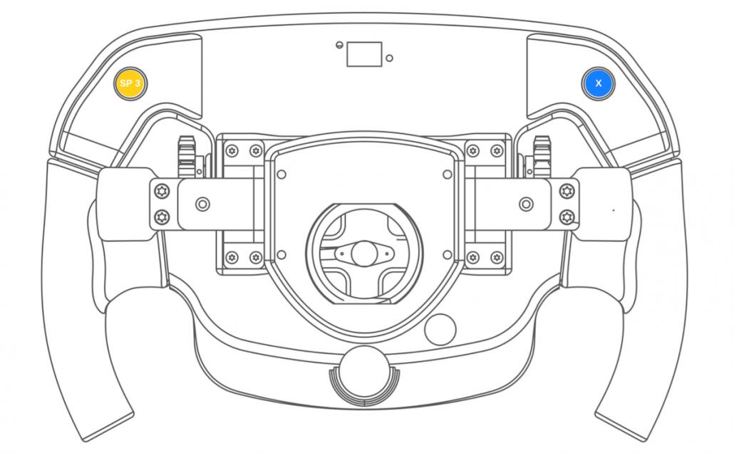 Sim racing wheel Thrustmaster PS4