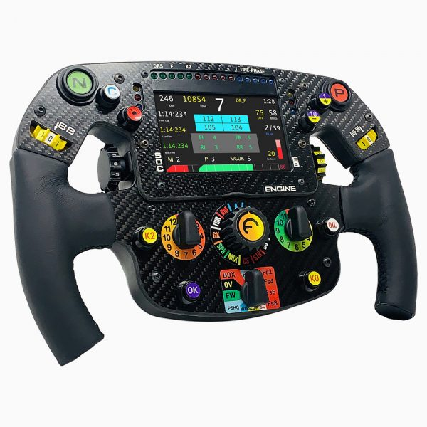 Sim racing steering wheel