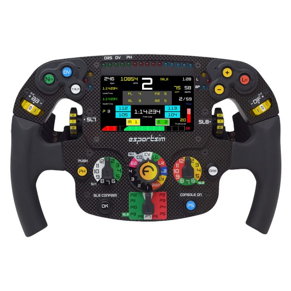 Formula steering wheel series 2 PC, PS4, PS5 and Xbox